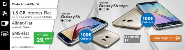 Otelo Allnet-Flat XL - Samsung Galaxy S6 - S6-Edge