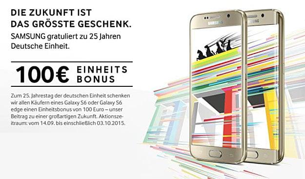 Samsung-Einheitsbonus-Galaxy-S6