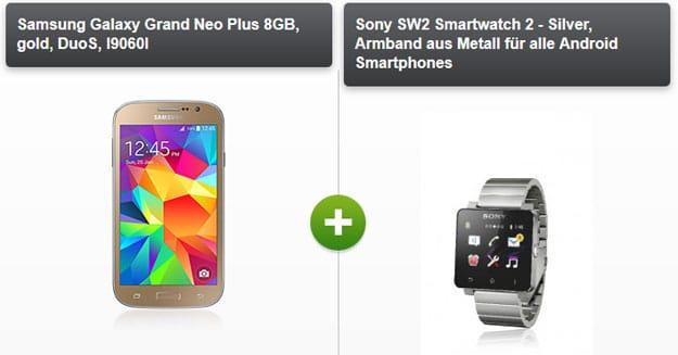 Klarmobil Allnet Sparer mit DuoS-Handy und Smartwatch