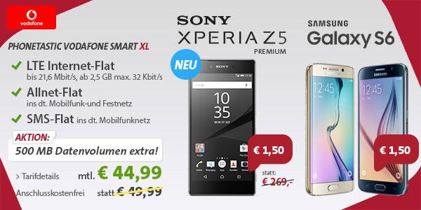 Phonetastic mit Sony Xperia Z5