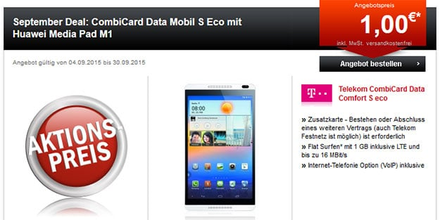 Telekom CombiCard Data S eco
