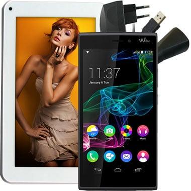 Wiko Ridge + 7 Zoll Tablet mit Dual SIM Verträgen