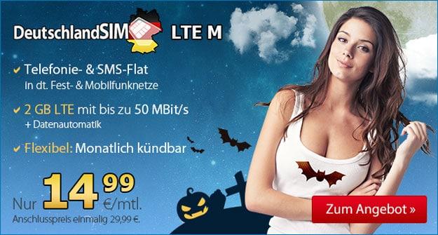 DeutschlandSIM LTE M Halloween
