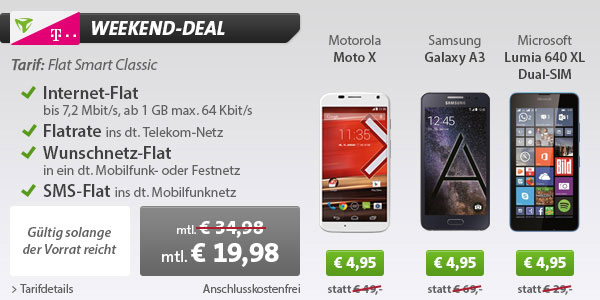 Flat Smart Classic Motorola Moto X