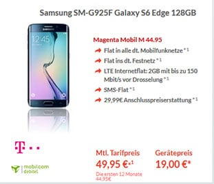 Telekom Magenta M Samsung Galaxy S6