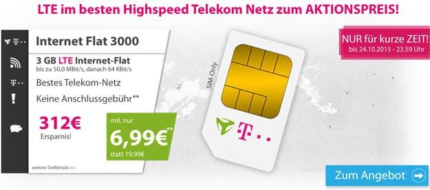 Internetflat 3000 Telekom