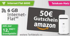 Internetflat Telekom 6000