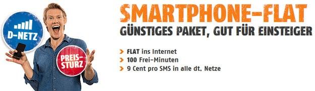 Klarmobil Smart-Flat ab 5,95 € mtl.
