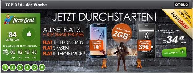 Otelo Allnet Flat XL mit 2 GB und Huawei Mate S
