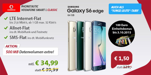 Phonetastic Smart L mit Galaxy S6