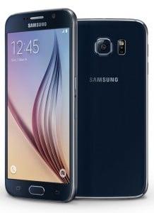 Samsung Galaxy S6 schwarz