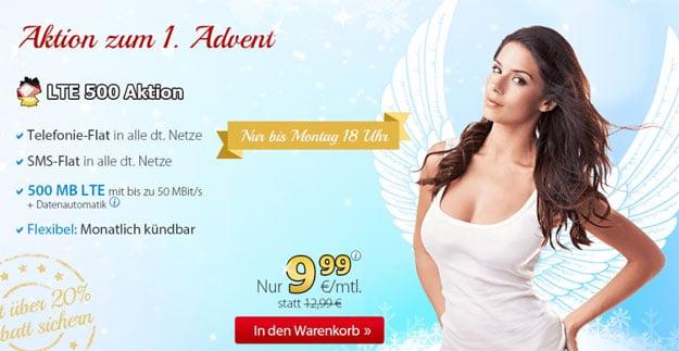 DeutschlandSIM LTE 500 1. Advent