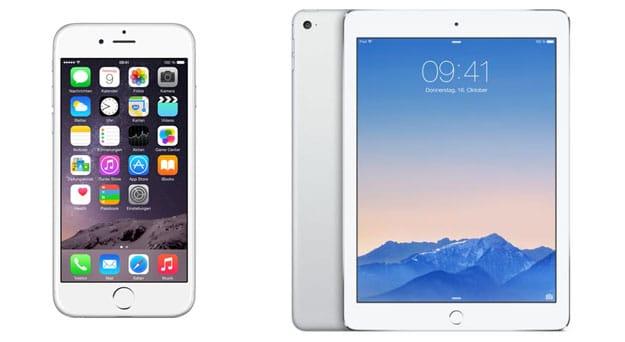 iPhone 6 und iPad Air 2 mit Telekom Magenta Mobil S