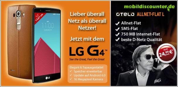 Otelo L mit LG G4