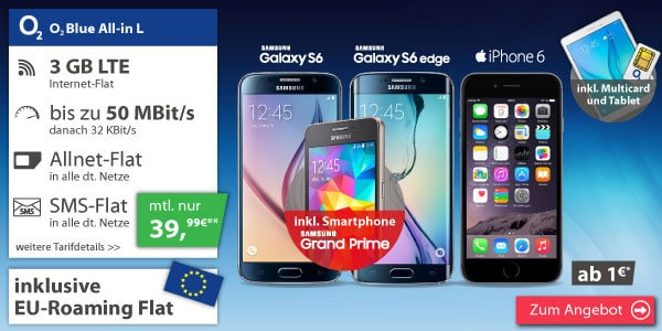 o2 Blue All-in L mit Samsung-Bundle