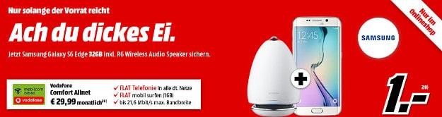 S6 Edge + Speaker + Vodafone Comfort Allnet