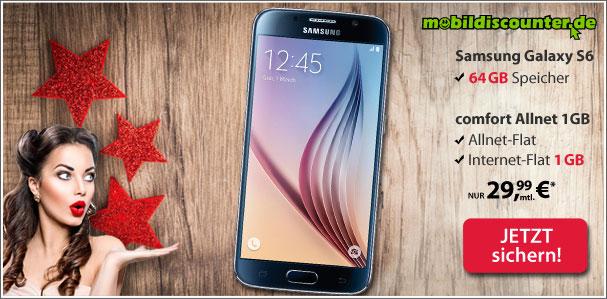 Samsung Galaxy S6 64GB + Vodafone Allnet Comfort