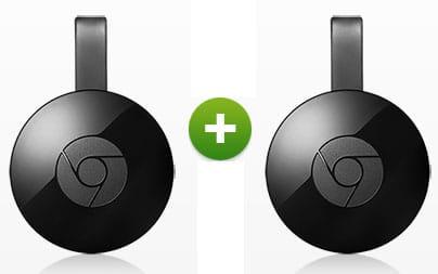 2 mal Google Chromecast 2