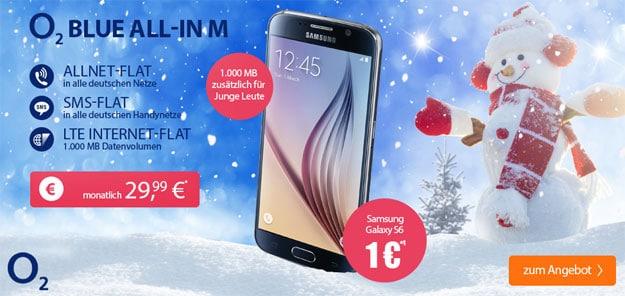 o2 Blue All-in M - Samsung Galaxy S6