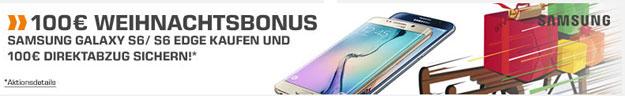 Samsung Galaxy S6 100 € Bonus Saturn