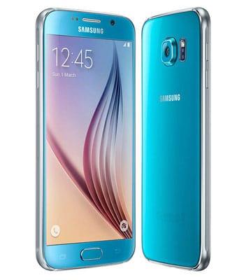 Samsung Galaxy S6 blau