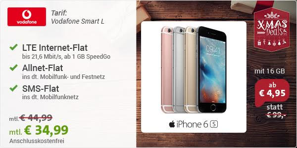 Vodafone Smart L - iPhone 6s