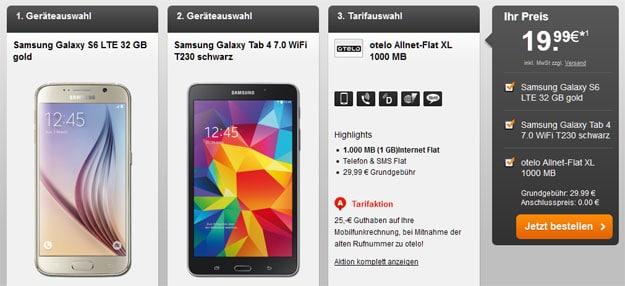 Samsung Galaxy S6 - Tablet - otelo Allnet-Flat XL