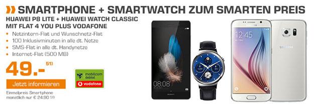 Flat 4 You Plus mit Huawei P8 Lite