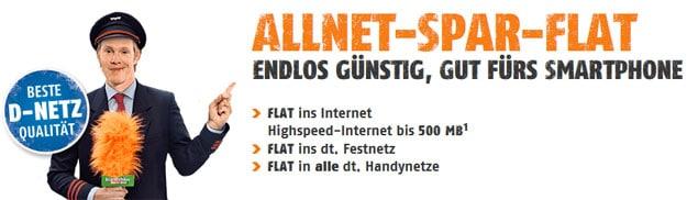 klarmobil Allnet Flat im Telekom Netz
