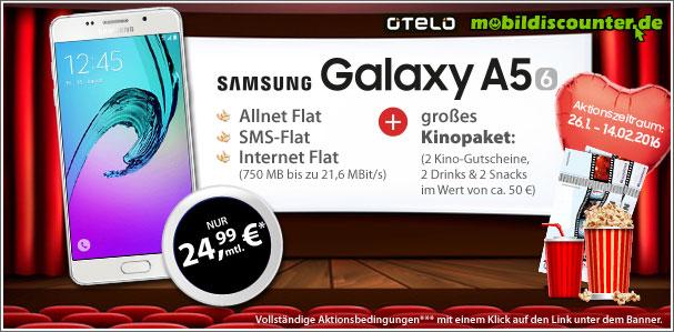 Samsung Galaxy A5 mit otelo Allnet-Flat L