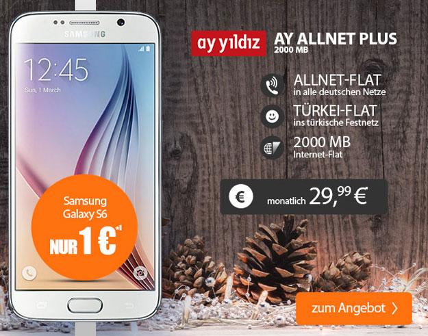 Samsung Galaxy S6 mit Ay Yildiz