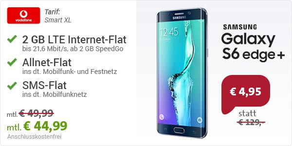 Samsung Galaxy S6 Edge+ mit Vodafone Smart XL