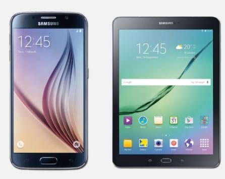 Samsung Galaxy S6 und Tab S2 mit Vodafone Smart XL