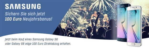 Redcoon Samsung Neujahrbonus mit 100 Euro Cashback