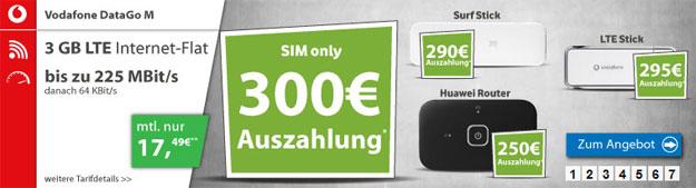 Vodafone DataGo M mit Auszahlung
