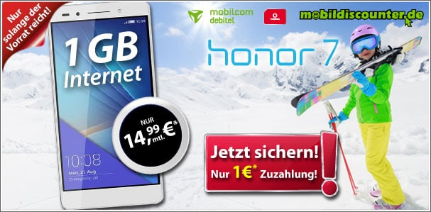 Vodafone Smart Surf mit Honor 7
