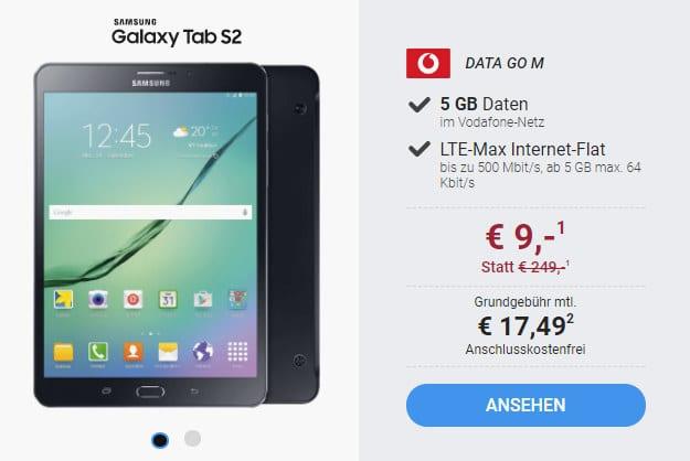 Galaxy Tab S2 + DataGo M