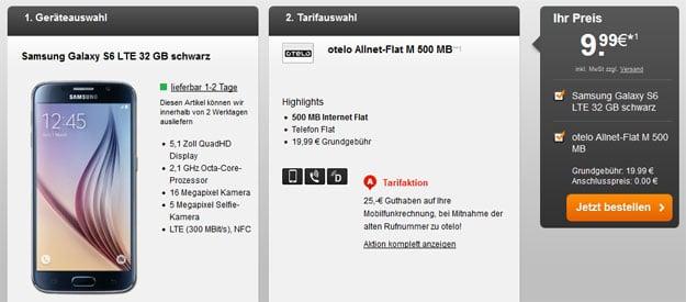 Samsung Galaxy S6 - otelo Allnet-Flat M