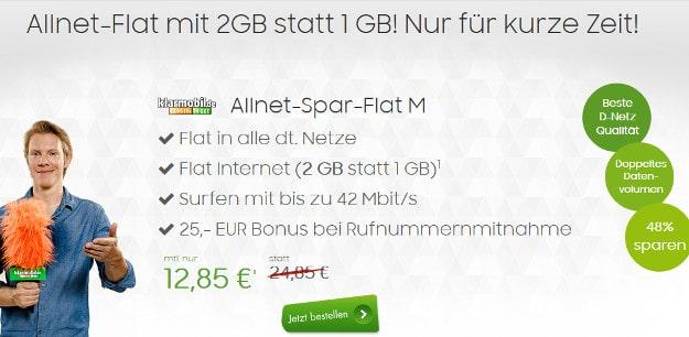 Allnet-Spar-Flat im Telekom-Netz
