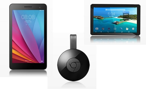 Chromecasts und Tablets