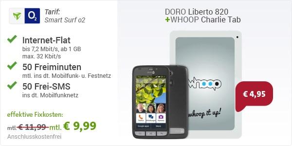 o2 Smart Surf mit Doro Liberto 820