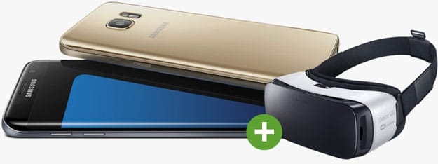 Samsung Galaxy S7 mit Vodafone Smart XL
