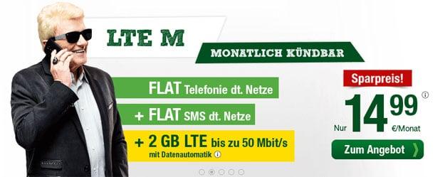 smartmobil LTE M für 14,99 €