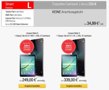Vodafone Smart L mit Huawei Mate S