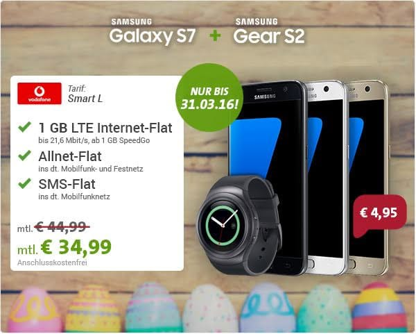 Samsung Galaxy S7 - Vodafone Smart L