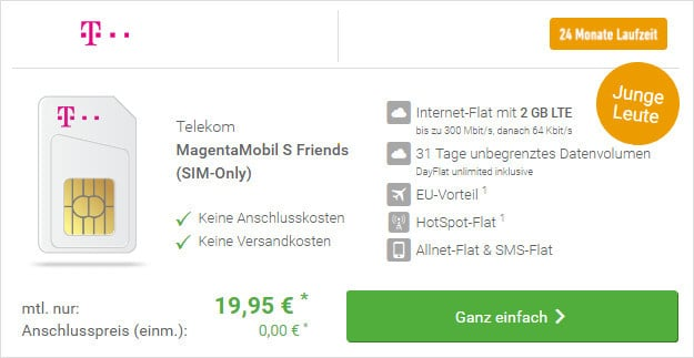 Telekom Magenta Mobil SIM-only