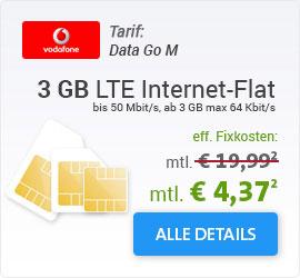 Vodafone DataGo M SIM only