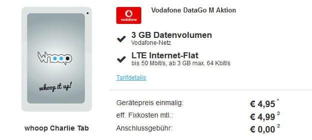 Vodafone DataGo M - Tablet