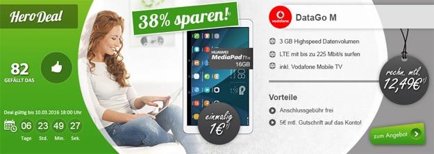 DataGo M mit Huawei MediaPad T1