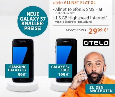 otelo Allnet-Flat XL mit S7